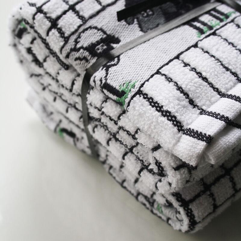 Bale Of Two Sheep Poli-Dri 100% Cotton T-Towels