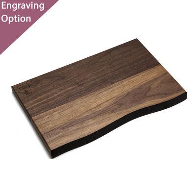 Small Rustic Waned Edge Walnut Board