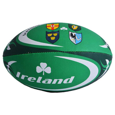 Ireland Designed Four Province Crest Design With Shamrock Design  Size 5