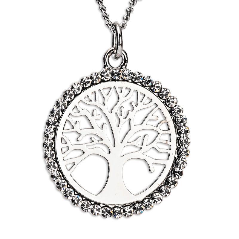 Newgrange Living Silver Tree of Life Pendant