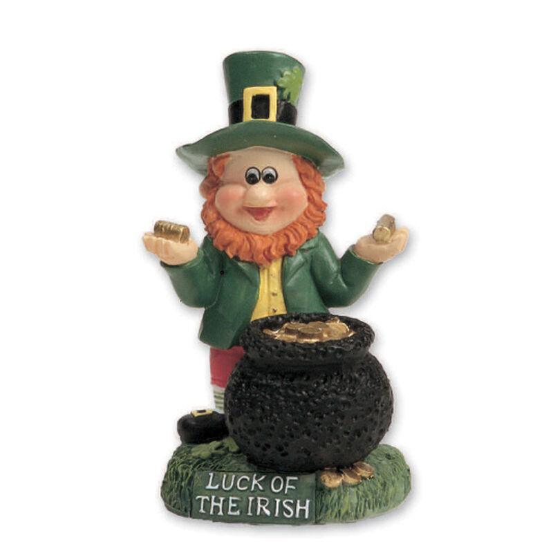 Miniature Leprechaun With Pot Of Gold