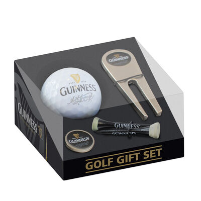 Guinness Golf Gift Set With Ball, Ball Marker, Tee And Pitch Repairer