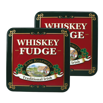 CLEARANCE - Kate Kearney's Whiskey Fudge In Tin 175G (Two Pack)