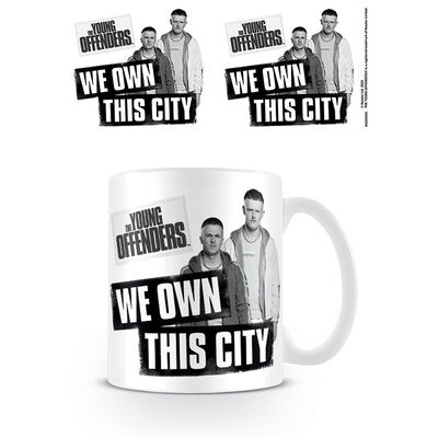 The Young Offenders We Own This City Mug