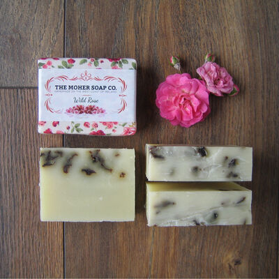 The Moher Soap Co. Wild Rose Natural Soap
