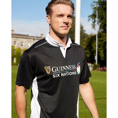 Guinness Official Merchandise Six Nations Rugby Performance Top
