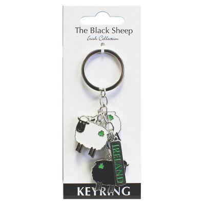 Black Sheep Charm Keychain