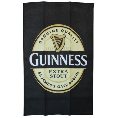 Official Guinness 100% Cotton Towel With Label