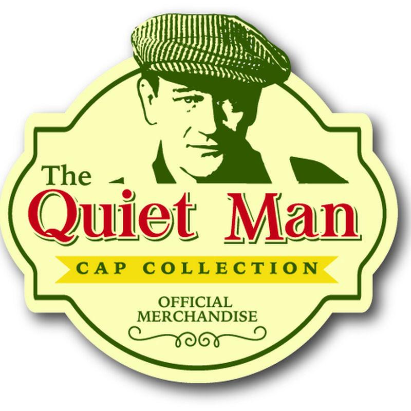 Quiet Man Collection Grey Tartan and Herringbone Wool Cap Premium Quality