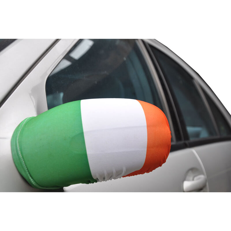 2 Piece Set Of  Tricolour Car Wing Mirror Covers