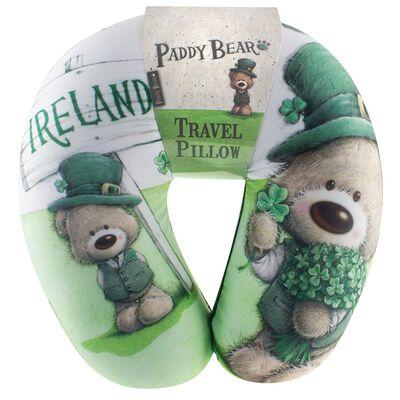 Paddy Bear-Reisekissen im irischen Design