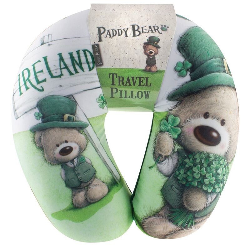 Paddy Bear Irish Designed Travel Pillow