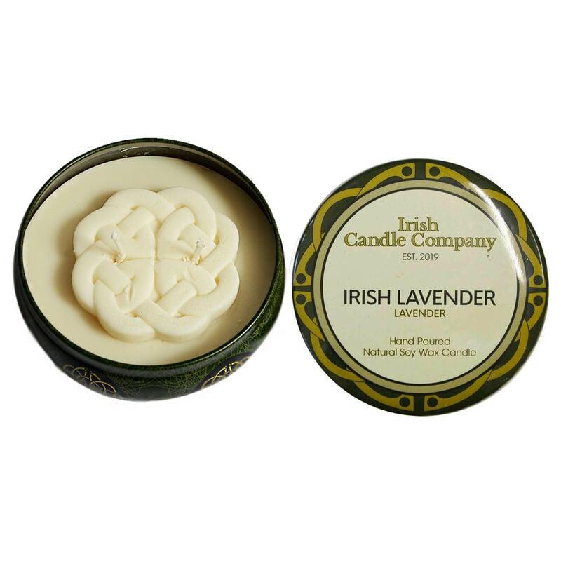 Irish Candle Company Small Irish Lavender Natural Soy Wax Candle