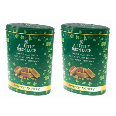 CLEARANCE - A Little Irish Luck Dairy Cream Fudge  (Two Pack)