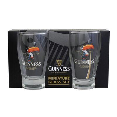 Miniature Pint Glass (2 Pack) - Toucan