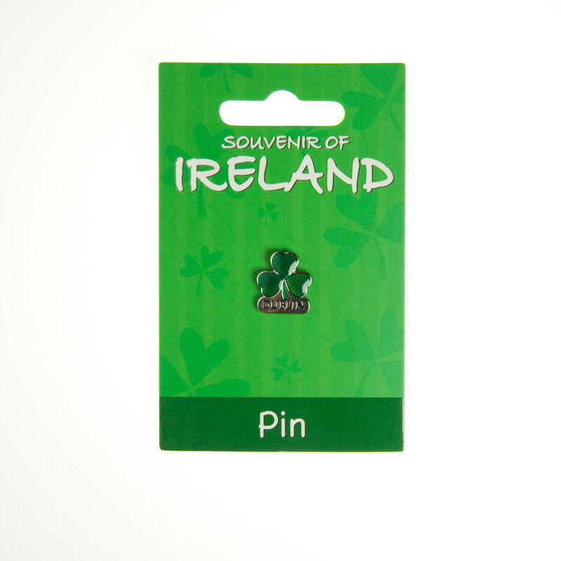 Shamrock Dublin Lapel Pin