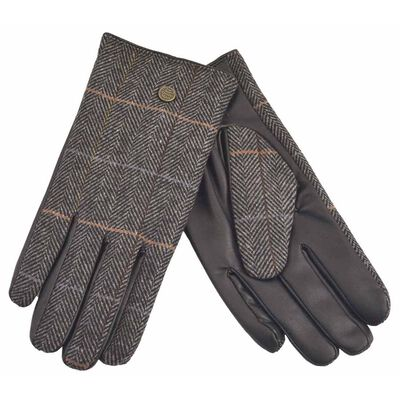 The Quiet Man Collection Boxed Traditional Irish Gloves  Grey Colour
