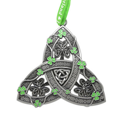 Celtic Hanging Decoration Crafted With Trinity Knot Design