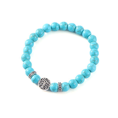 Mystic Ireland Turquoise Semi Precious Stone Celtic Energy Bracelet