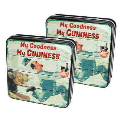 CLEARANCE - Guinness Gift Tin Of Fudge With My Goodness My Guinness Lion Design, 100g ( Two Pack)