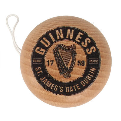 Authentic Guinness Merchandise Collectible Yo Yo Crafted From Wood