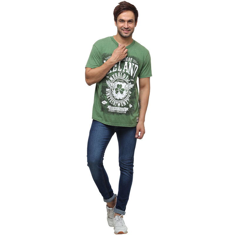 Green Republic Of Ireland Celtic Nations Established Nineteen Twenty Two T-Shirt