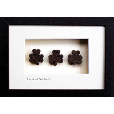 Bog Buddies Luck of The Irish Turf Wall Frame