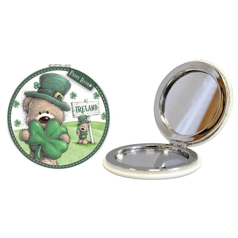 Paddy Bear-Taschenspiegel im irischen Design