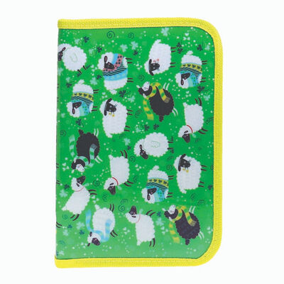 Enchanting Ireland Zip Filled Pencil Case With Fun Sheep Design