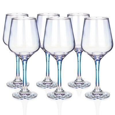 Newgrange Living Unicorn Lustre Wine Glasses, Set of 6