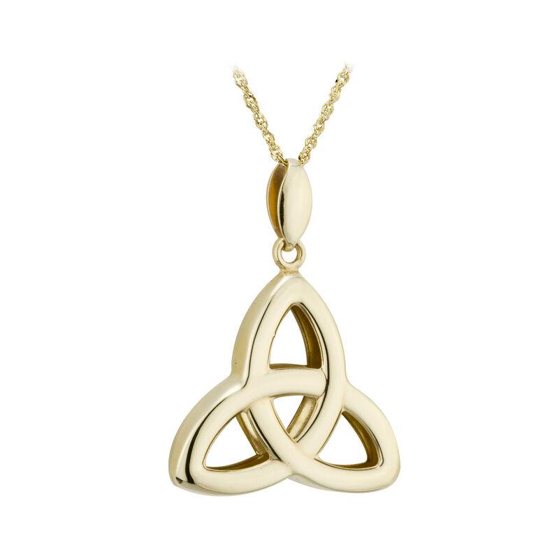 9 Carat Gold Trinity Knot Pendant