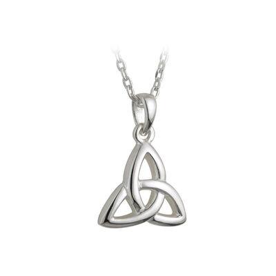 Hallmarked Sterling Silver Kid's Trinity Knot Pendant