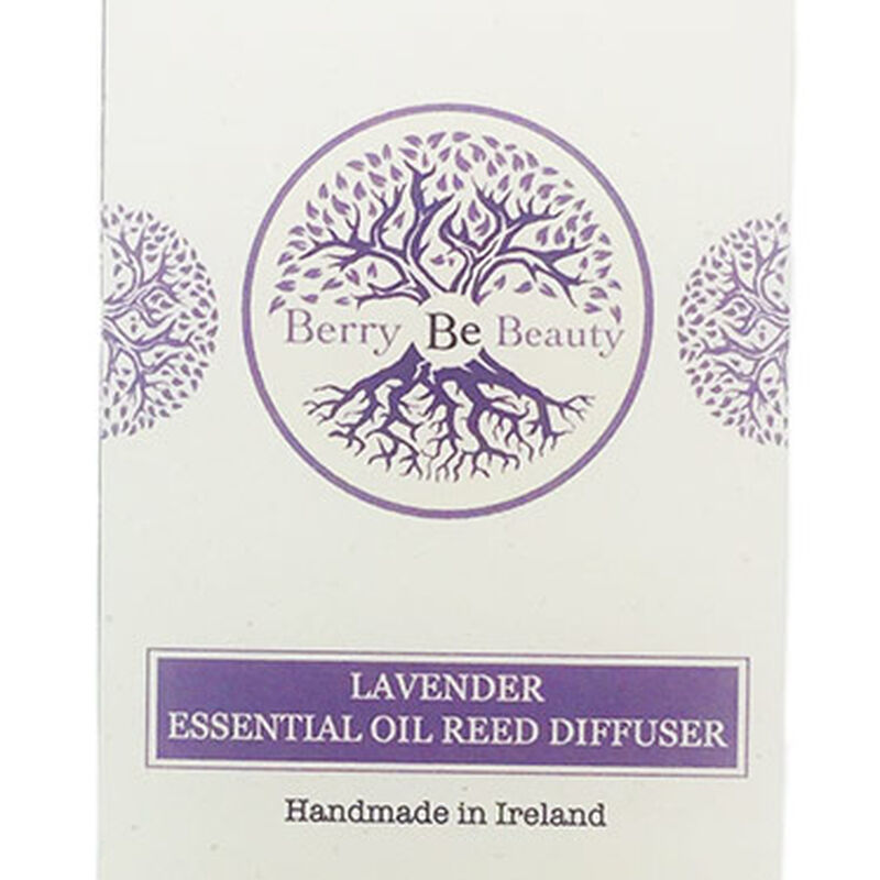Berry Be Beauty Lavender Essential Oil Reed Diffuser – Handmade in Ireland