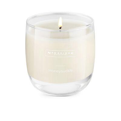 Newbridge Silverware Scented Soy Blend Wax Candle Honeysuckle