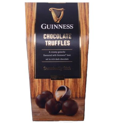 Guinness-Schokoladetrüffel  verschwenderisch reiche dunkle Schokolade  135G