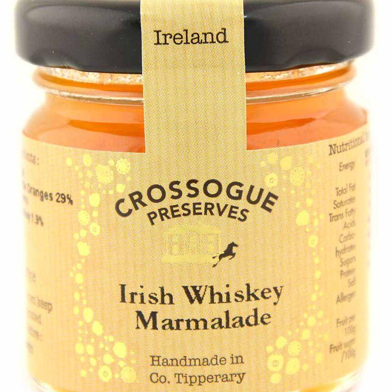 Handmade In Ireland Crossogue Preserves Irish Whiskey Marmalade  37G