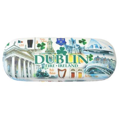 Dublin Famous Landmarks Designed Glasses Case