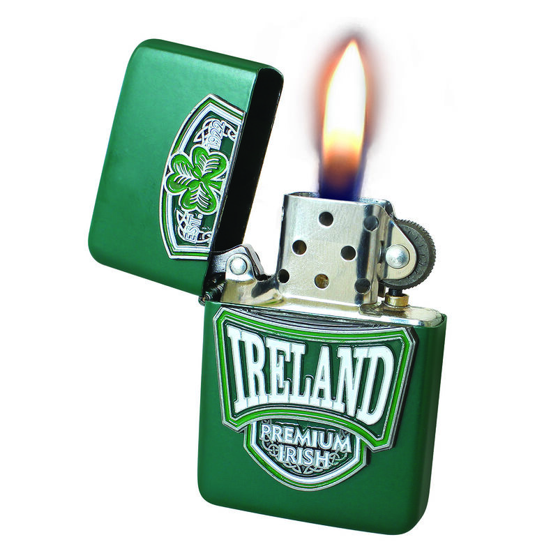 Windfestes Öl-Feuerzeug im College-Stil