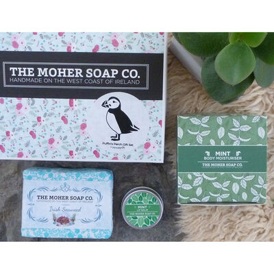 The Moher Soap Co. Puffin's Perch Gift Set