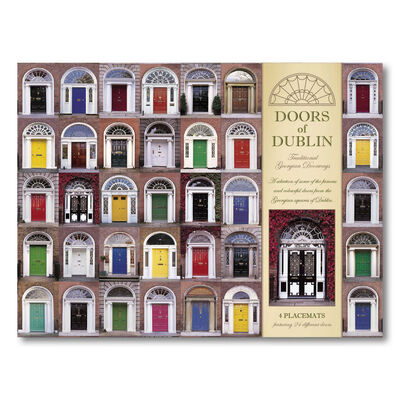 Doors of Dublin Designed Placemats - Set of Four