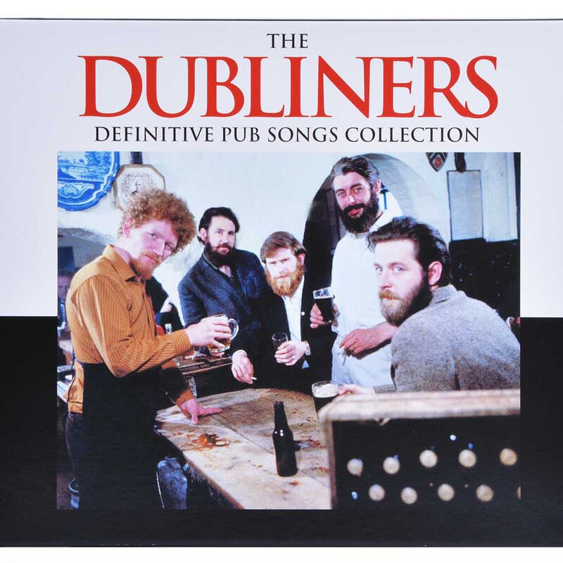 The Dubliners Definitive Pub Song Collection Traditional Irish CD Set