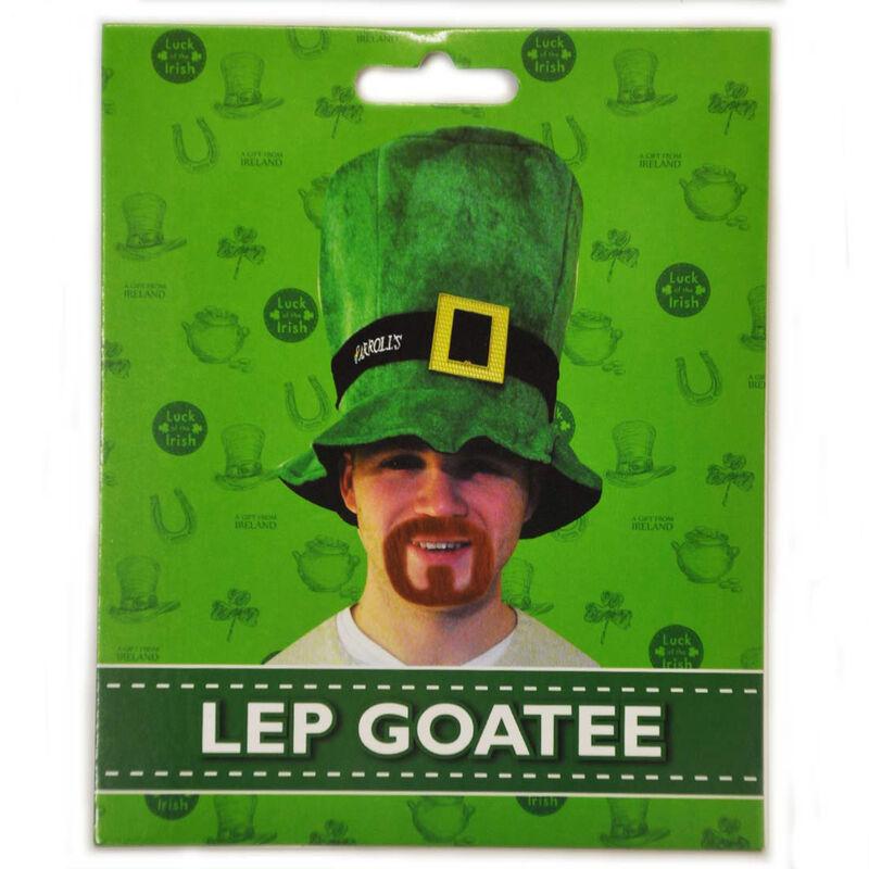 Luck Of The Irish Leprechaun Styled Red Goatee