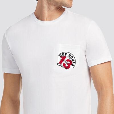 Hop House 13 Long Oversized T-Shirt, White Colour
