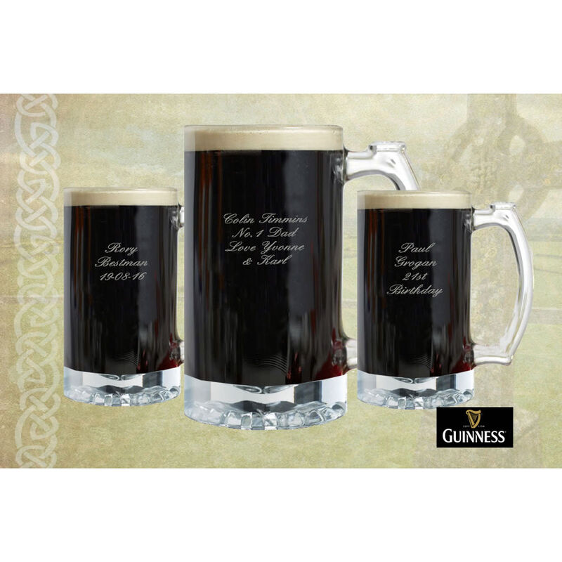 Mini Tankard With Guinness Classic Collection St. James Gate Label Design