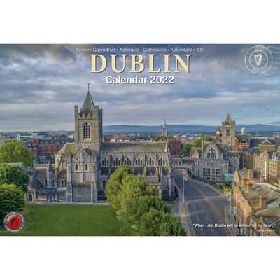 A4 12 Stunning Images Of Dublin Calendar 2022 By Liam Blake