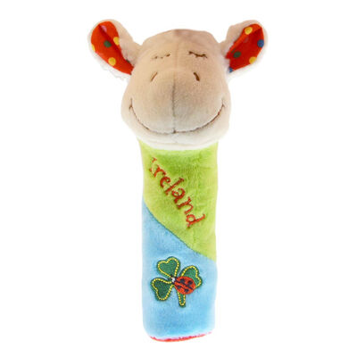 Irish Farmyard Friends Squeaky Sheep Baby Toy With Bright Colours