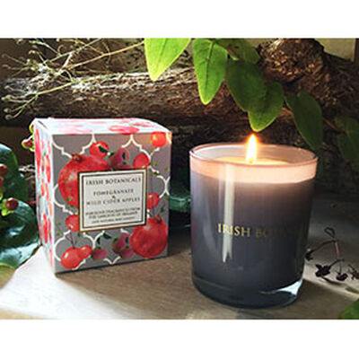 Irish Botanicals Pomegranate & Wild Cider Apples Natural Scented Candle