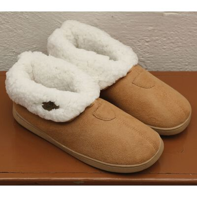 Kids Knitted Soft Woollen Irish Suede Wool Slip On Boot Slippers