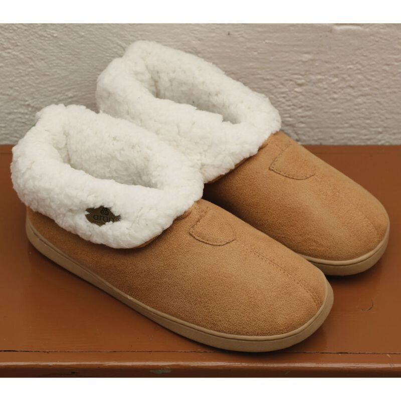 Kids Knitted Soft Woollen Irish Suede Wool Slip On Boot Slippers