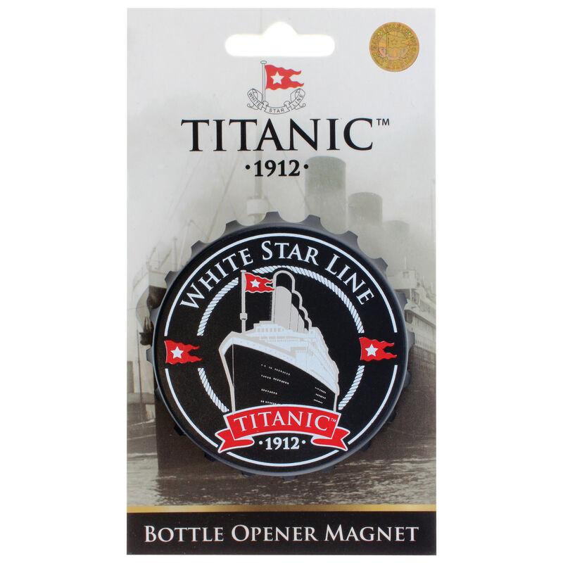 Titanic 1912 White Star Line Collectors Bottle Opener Magnet